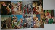 9 Vintage Religious Themed Bible Stories Frame Tray Cardboard Puzzles Jesus
