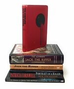 Patricia Cornwell / Lot Of 5 Books About Serial Killer Jack The Ripper London