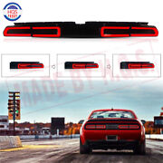 Smoke Tail Light For 2008-2014 Dodge Challenger Sequential Indicator Rear Lamps
