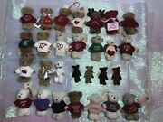 Special Sale Retired Lot Of 28 Valuable Boydandrsquos Bears Mini Bears 27 Nwt 1 Nwot