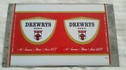 Drewrys Beer Small Mountie Unrolled Flat Can Sheet 12 Oz Chicago Il