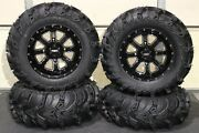 Can Am Renegade 800 27 Mud Lite Ii 14 St-4 M / Blk Atv Tire And Wheel Kit Can1ca