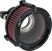 Trask Gloss Black Assault Charge Air Cleaner For 1991-2020 Harley Sportster
