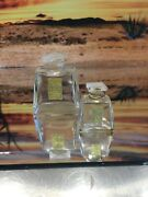 Coty Vintage L'aimant Perfume Bottles. Lalique Designed.two, 1oz, And 1/3rd Oz