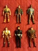 Lot Of 6 1991 Kenner Robin Hood Of Thieves Action Figures Kevin Costner