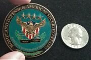 Ultra Rare Assist Secretary Of Defense Security Secdef Homeland Challenge Coin