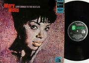 Mary Wells-songs To The Beatles Vg+/vg Rarelp