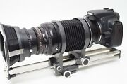 Hasselblad Bellow With 135mm 5.6 Macro Lens And Canon Ef Adapter