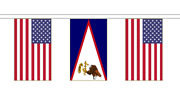 United States Us Territories Friendship Flag Polyester Bunting - Premium Quality