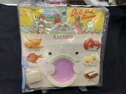Rare Vintage Delicious Dinner Dime Store Toy Moc Mip Hong Kong
