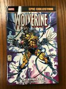 Wolverine Vol 8 Dying Game Epic Collection Tpb Sc Gn Marvel Comics