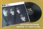 With The Beatles Super Uk 60and039s Rare Stereo Press Small Titles Unknown D Tax