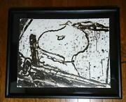 Tom Everhart Snoopy Lithographie Monday Petit Matin 214/350 Carte Postale