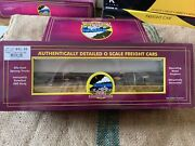 Mth Premier 20-98375 Milwaukee Road Flat Car With Log Load 58859