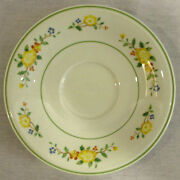 Rare Discontinued Noritake Versatone Lineage Pattern Saucer Only New