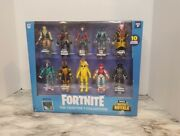 Fortnite Battle Royale Chapter 1 Collection 10 Figure Pack Sealed Video Game Toy