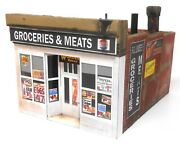 Downtown Deco O Scale Lindseyand039s Grocery Craftsman Building Kit + 25 Detail Set