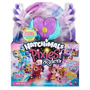 Hatchimals Pixies Riders Lilac Luna And Swanling Glider - Hot Toy 2020