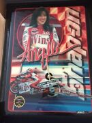 Snap On Racing Limited Edition Angelle Seeling Wall Clock Drag Racing Motorcycle
