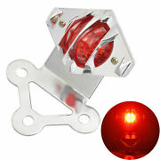Retro Grill Brake Stop Tail Light For Harley Dyna Super/wide Glide Street Racer