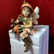 Boyds Wee Folkstone Autumn Faerie Forest Harvest Time_self Sitter_ Brand New