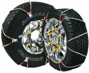 Sz137 Super Z6 Cable Tire Chain For Passenger Cars Pickups And Suvs - Set Of 2