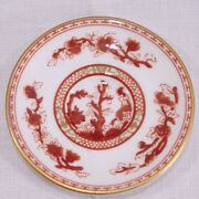 Discontinued Coalport Red Indian Tree Pattern Mini/ Miniature Saucer Only New