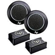 Audiopipe 1 High Frequency Tweeters With Kapton Former Voice Coil Pair Aphe-t