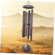 Wind Chime Outdoor Large Deep Tone45-inch Remembrance Windchimes Unique 45