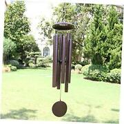 Wind Chimes Outdoor Deep Tone, 45 In Memorial Wind Chimes Large 45 Inch Bronze