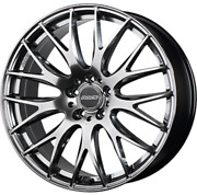 Rays Homura 2x9plus 18x8.0j +38 Silver Set Of 4 For Toyota Harrier From Japan