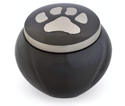 Best Friend Services Odyssey Paws Series Pet Urn Slate/pewter Large Sku2887-40