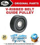 Gates Fan Belt Guide Pulley For Iveco Daily Iii Box Body/estate 40c14 2004-2006