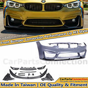 F80 M3 Style Bumper Cover For Bmw F30 F31 2012-2018 +fog Cover +performance Lip