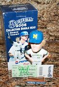 2006 Robin Yount Sga Signed Rookie Bobblehead Autograph Brewers Auto