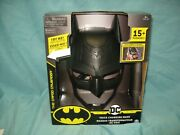 New Dc Batman Voice Changing Mask With Over 15 Phrases For Kids Aged 4+ T2