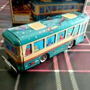 [w/box] Space Bus Tin Vehicle Toy 1960s Antique Showa Retro From Japan Ms-457