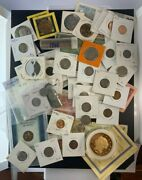 Us And Foreign Coin And Currency Lot, Great Beginner Set, Lot 31