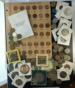 Us And Foreign Coin And Currency Lot, Great Beginner Set, Lot 28