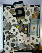 Us And Foreign Coin And Currency Lot, Great Beginner Set, Lot 32