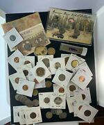 Us And Foreign Coin And Currency Lot, Great Beginner Set, Lot 30