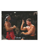 10x8 Bloodsport Print Signed By Bolo Yeung 100 Authentic With Coa