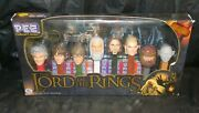 2011 Lord Of The Rings Pez Collector's Series - 8 Pc Set In Sealed Box