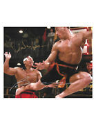 10x8 Bloodsport Print Signed By Jcvd Jean-claude Van Damme And Bolo Yeung 100 Coa