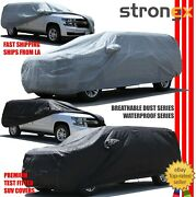 Car Cover Indoor Outdoor Protection Breathable W/carrying Bag For Rover Lwb