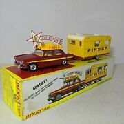 Dinky Toys 882 Peugeot 404 Circus Caravan Made In France, 1969-71 With Box Mint