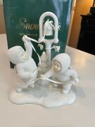 Dept. 56. Snowbabies Ring The Bells...it's Christmas 68764 Brand New In Box