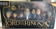 Lord Of The Rings Pez Collectors Series Limited Edition 8 Characters - Sealed