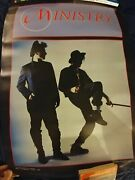 Vintage Ministry Poster 28.5 X 20