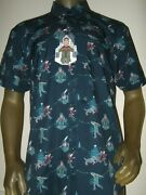 Mens M-l Rsvlts National Lampoons Christmas Vacation Clark Griswold Lights Shirt